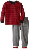 Ralph Lauren Cotton Terry Jogger Pants Set (Infant)