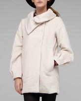 Jackie Coat In Cream