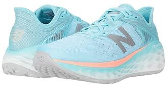 New Balance Fresh Foam More v2 (Sea Salt/Newport Blue) Women's Running Shoes