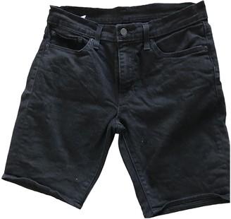 Levi's Black Denim - Jeans Shorts