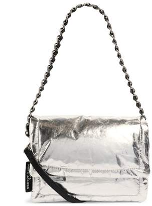 Marc Jacobs The The Metallic Leather Pillow Bag