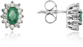 Tagliamonte Incanto Royale Emerald and Diamond 18K Gold Earrings