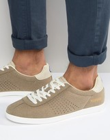 Lambretta Retro Sneakers In Taupe