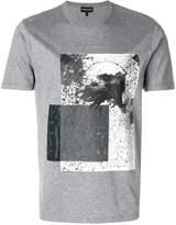 Emporio Armani Eagles print T-shirt