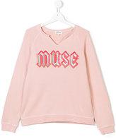Zadig & Voltaire Kids Teen muse embroidered sweatshirt