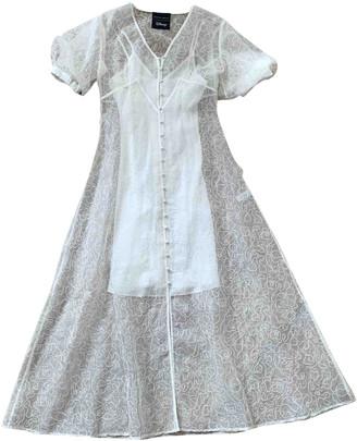 Olivia von Halle White Silk Dresses