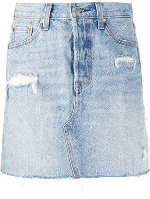 Levi's Denim Short Skirt