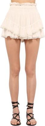 Etoile Isabel Marant Janis Light Viscose Shorts