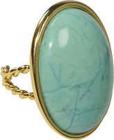 Privileged Jewelry Turquoise Oval Stone Ring