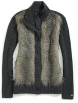 Tommy Hilfiger Ski Faux Fur Sweater