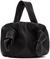 STAUD Black Leather Ronnie Bag