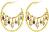 Gemfields X Muse Ruby Lantern Earrings