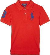 Ralph Lauren Custom Fit Cotton Polo 6-14 Years