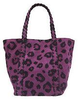 Kelsi Dagger Ryan Leopard Print Double Strap Shoulder Bag