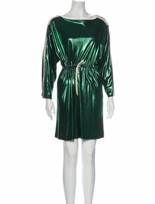 Gucci 2019 Mini Dress w/ Tags Green