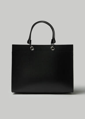 Comme des Garcons Recycled Leather Large Tote Bag