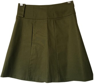 Vivienne Tam Khaki Cotton - elasthane Skirt for Women