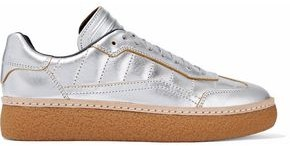 Alexander Wang Metallic Quilted Leather Sneakers