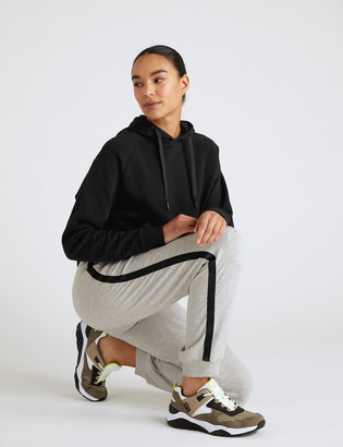 Marks and Spencer Side Stripe Cuffed Relaxed Joggers