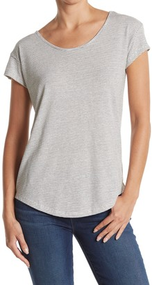 Alternative Eco Origin Stripe Print T-Shirt