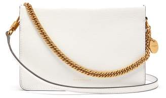 Givenchy Cross3 Leather And Suede Cross-body Bag - Womens - White Multi