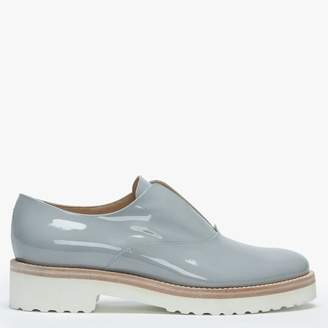 Luca Grossi Madaba Grey Patent Leather Loafers