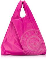 MM6 Maison Martin Margiela Pink & Red Double Face Nylon Market Bag w/Logo