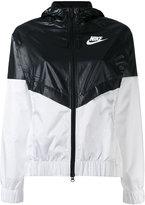 Nike colour block windrunner jacket
