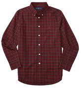 Ralph Lauren Boys 8-20 Poplin Woven Dress Shirt