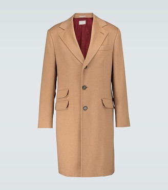 Brunello Cucinelli Baby camel classic long coat