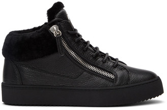 Giuseppe Zanotti Black Arena May London Sneakers