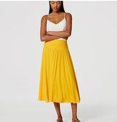 LOFT Petite Midi Skirt