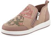 Donald J Pliner Myla Floral Stud Platform Sneaker
