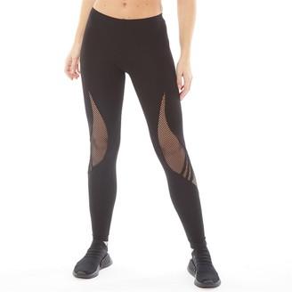 Y-3 Womens Lux Track Jersey Leggings Black