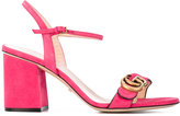 Gucci GG sandals - women - Leather/Suede - 37.5