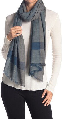 Eileen Fisher Handloomed Organic Cotton Scarf