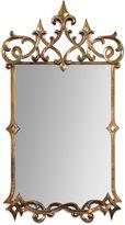 Uttermost Mirandela 37-Inch Antiqued Wall Mirror in Gold