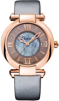 Chopard Amethyst and Mother-of-Pearl Imperiale Automatic Watch 36mm
