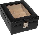 Royce Leather Executive Four-Slot Eyeglass Storage Display Case
