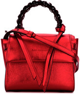 Elena Ghisellini chain detail shoulder bag - women - Calf Leather - One Size