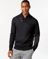 Sean John Alpha Shawl Collar Sweatshirt, Only at Macy's