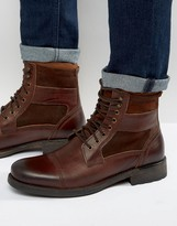 Aldo Engis leather Laceup Boots