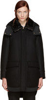 Moncler Black Down Nomia Coat