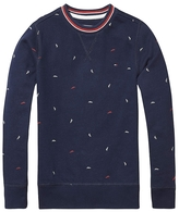 Tommy Hilfiger Th Kids Paper Planes Crewneck