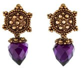 Stephen Dweck Amethyst Drop Earrings