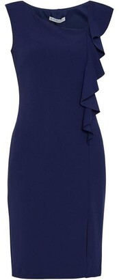 Gina Bacconi Bernita Stretch Crepe Dress