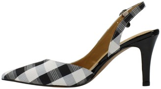 J. Renee Adjustabel High Heel Slingback Pumps -Yusra