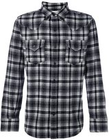 Saint Laurent checked classic Western shirt