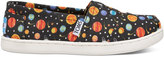 Toms Glow In The Dark Planets Youth Classics Slip-On Shoes - Size 6