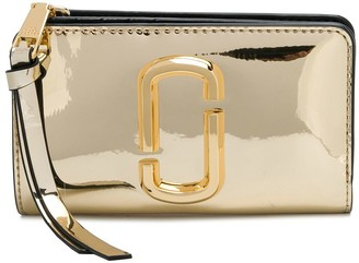 Marc Jacobs The Snapshot Mirrored compact wallet